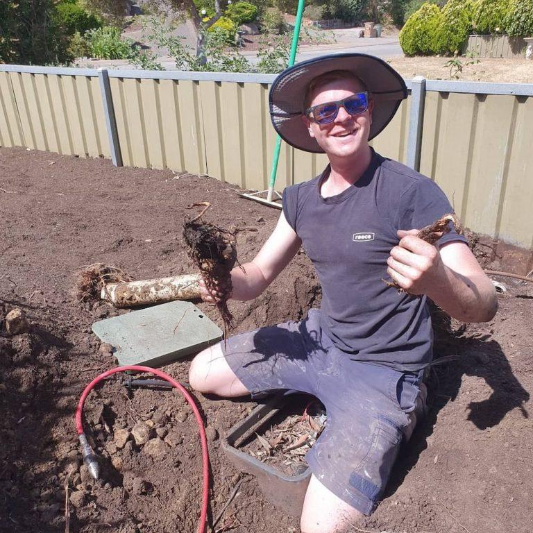 A friendly Plumber works in a Morphett Vale home