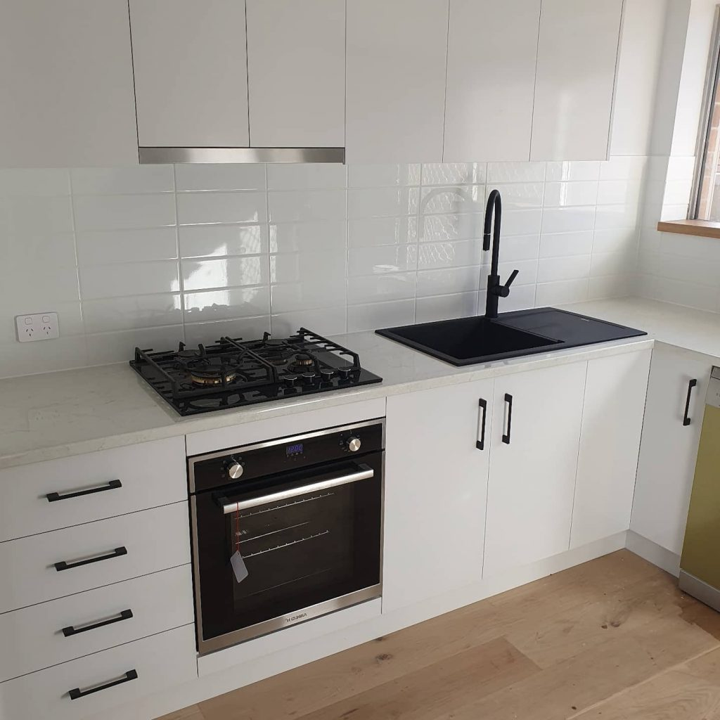 Kitchen upgrade completed by trusted residential plumbers