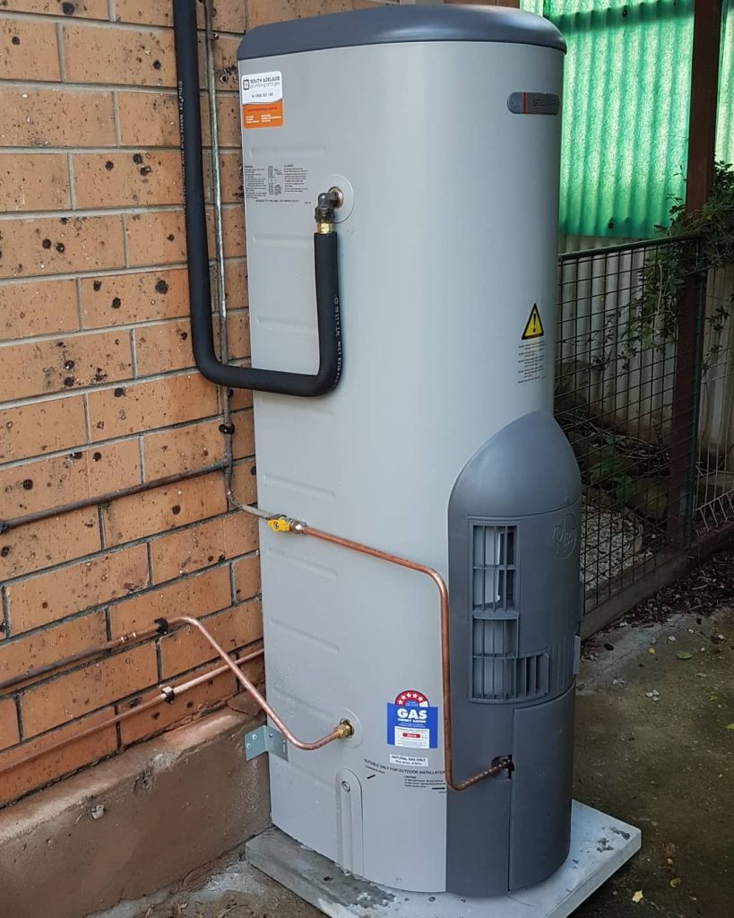 Replacement of Adelaide Hills hot water tank