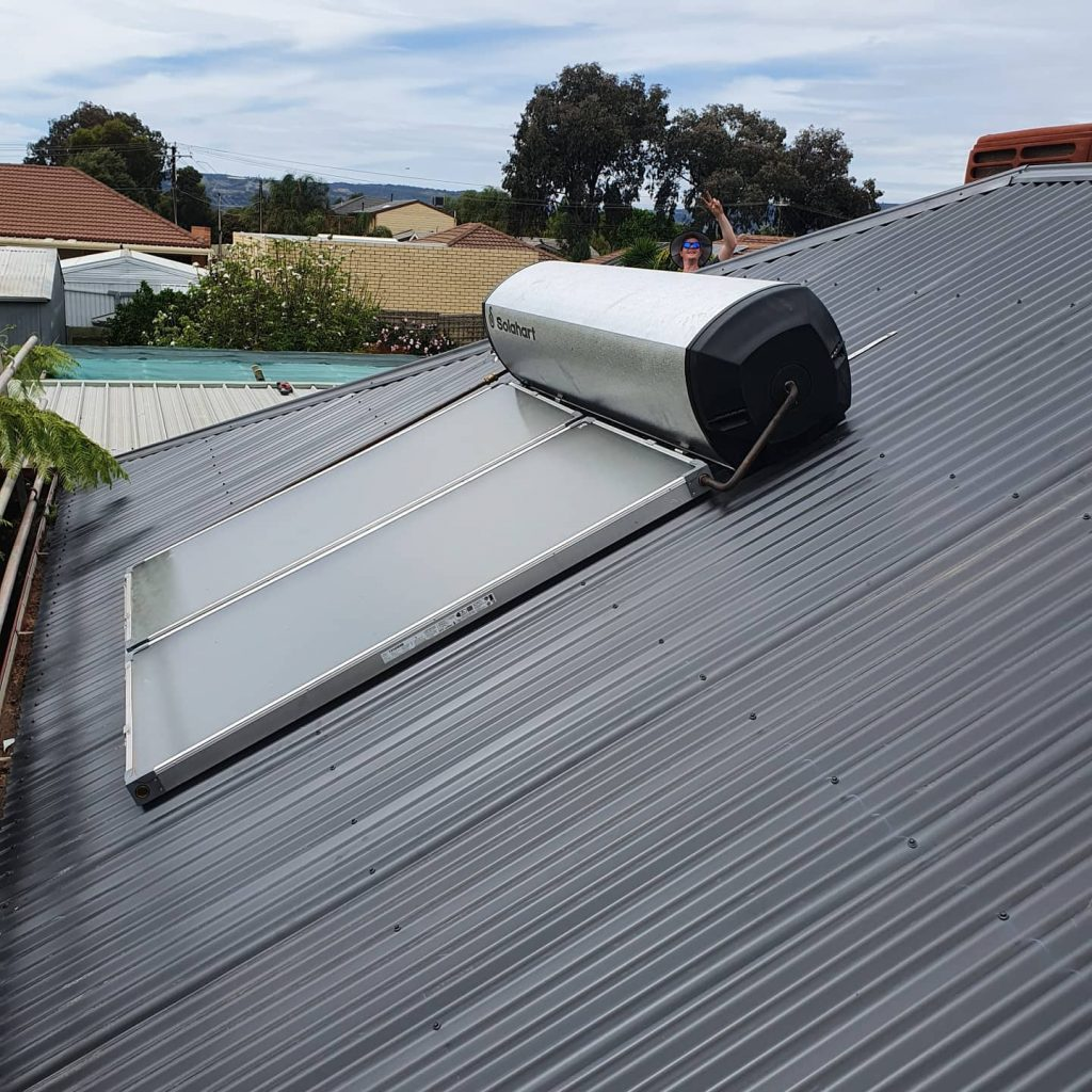 Upgrade to solar for this Hallet Cove hot water supply